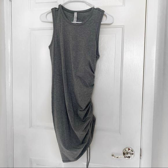 Asymmetrical Body Con Dress